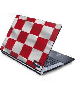 Croatia Soccer Flag Generic Laptop Skin