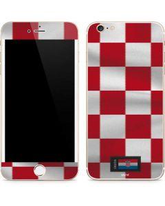 Croatia Soccer Flag iPhone 6/6s Plus Skin