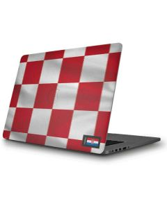 Croatia Soccer Flag Apple MacBook Pro Skin