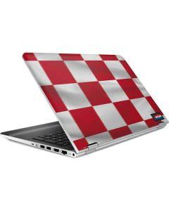 Croatia Soccer Flag HP Pavilion Skin