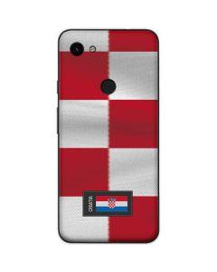 Croatia Soccer Flag Google Pixel 3a Skin