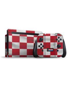 Croatia Soccer Flag Nintendo Switch Bundle Skin