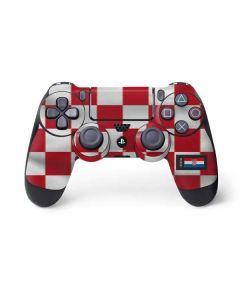 Croatia Soccer Flag PS4 Controller Skin
