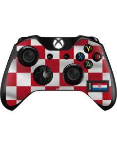 Croatia Soccer Flag Xbox One Controller Skin
