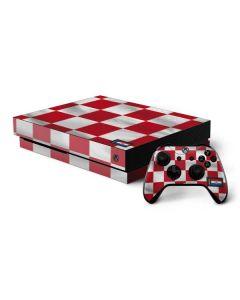 Croatia Soccer Flag Xbox One X Bundle Skin