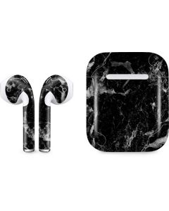 Crushed Black Apple AirPods Skin