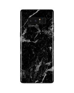 Crushed Black Galaxy Note 8 Skin