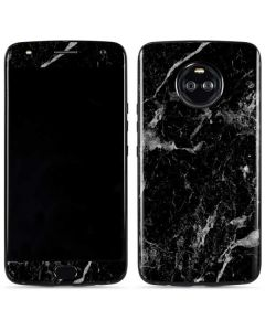Crushed Black Moto X4 Skin