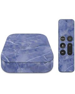 Crushed Blue Apple TV Skin