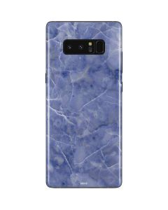 Crushed Blue Galaxy Note 8 Skin
