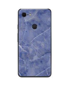 Crushed Blue Google Pixel 3 XL Skin