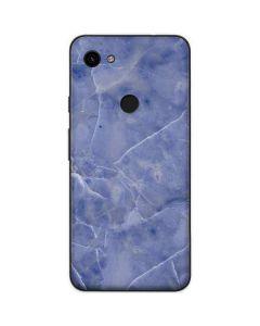 Crushed Blue Google Pixel 3a Skin
