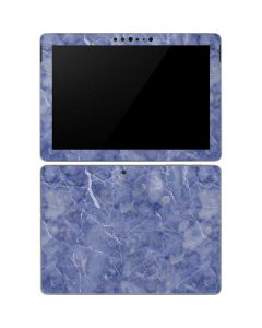 Crushed Blue Surface Go Skin