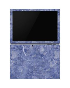 Crushed Blue Surface Pro 6 Skin