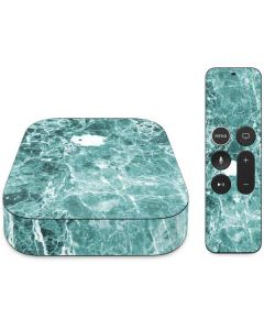 Crushed Turquoise  Apple TV Skin