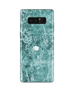 Crushed Turquoise Galaxy Note 8 Skin