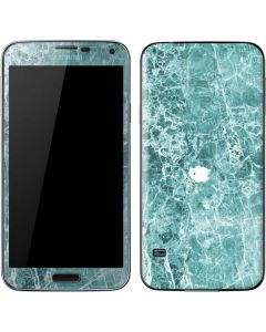 Crushed Turquoise Galaxy S5 Skin