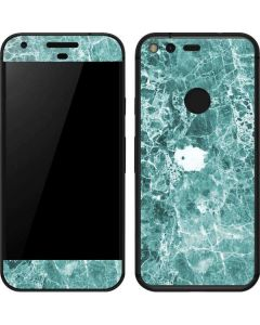 Crushed Turquoise Google Pixel Skin