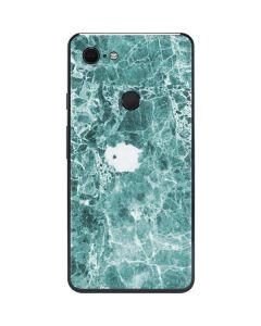 Crushed Turquoise Google Pixel 3 XL Skin
