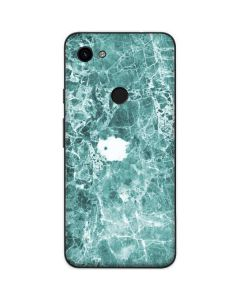 Crushed Turquoise Google Pixel 3a Skin