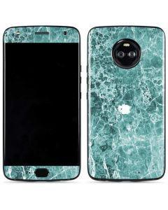 Crushed Turquoise Moto X4 Skin