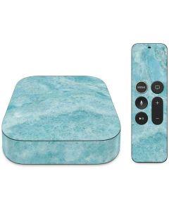 Crystal Turquoise Apple TV Skin