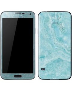 Crystal Turquoise Galaxy S5 Skin