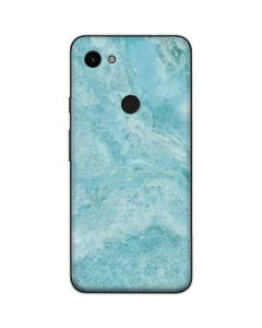 Crystal Turquoise Google Pixel 3a Skin