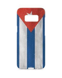 Cuban Flag Distressed Galaxy S8 Plus Lite Case
