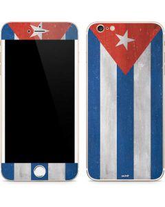 Cuban Flag Distressed iPhone 6/6s Plus Skin