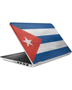 Cuban Flag Distressed HP Pavilion Skin