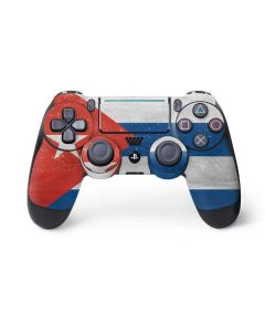 Cuban Flag Distressed PS4 Pro/Slim Controller Skin