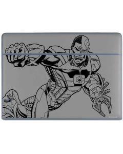 Cyborg Comic Pop Galaxy Book Keyboard Folio 10.6in Skin