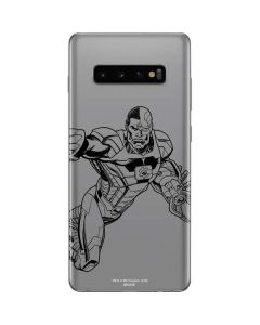 Cyborg Comic Pop Galaxy S10 Plus Skin