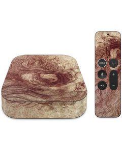da Vinci - Sketch of a roaring lion Apple TV Skin