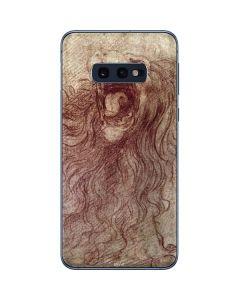da Vinci - Sketch of a roaring lion Galaxy S10e Skin