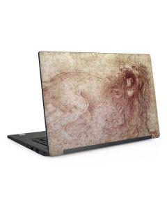 da Vinci - Sketch of a roaring lion Dell Latitude Skin