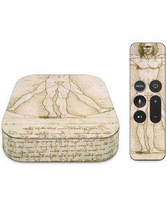 da Vinci - The Proportions of Man Apple TV Skin