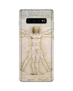 da Vinci - The Proportions of Man Galaxy S10 Plus Skin