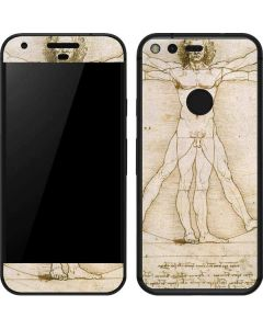 da Vinci - The Proportions of Man Google Pixel Skin