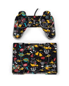 Daffy Duck Patches PlayStation Classic Bundle Skin
