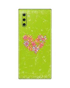 Daisy Heart Galaxy Note 10 Skin