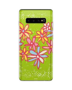 Daisy Heart Galaxy S10 Plus Skin
