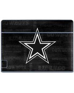 Dallas Cowboys Black & White Galaxy Book Keyboard Folio 10.6in Skin