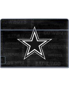 Dallas Cowboys Black & White Galaxy Book Keyboard Folio 12in Skin