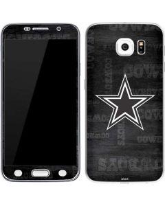 Dallas Cowboys Black & White Galaxy S6 Skin