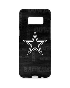 Dallas Cowboys Black & White Galaxy S8 Plus Lite Case
