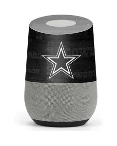 Dallas Cowboys Black & White Google Home Skin