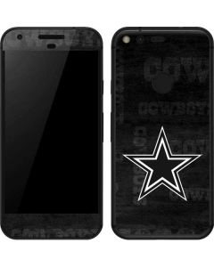 Dallas Cowboys Black & White Google Pixel Skin