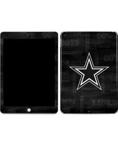 Dallas Cowboys Black & White Apple iPad Skin